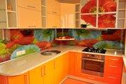 Стеклянный фартук для кухни в Алматы